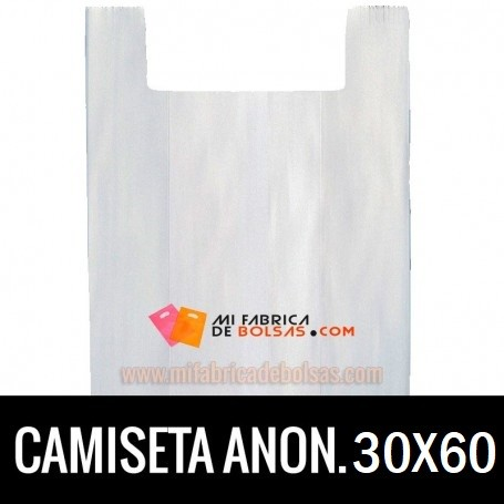 BOLSAS CAMISETA ANÓNIMAS 30X60