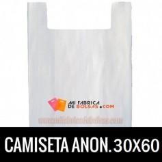BOLSAS CAMISETA ANÓNIMAS 30X60 G.70