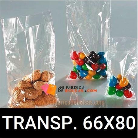 BOLSAS DE PLASTICO TRANSPARENTES 66X80