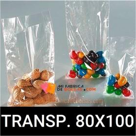 BOLSAS DE PLASTICO TRANSPARENTES 80X100