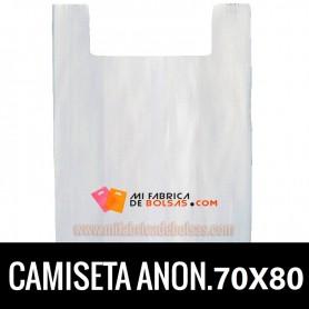 BOLSAS CAMISETA ANÓNIMAS 70x80 G.90