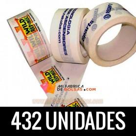 ROLLOS DE PRECINTO INDUSTRIAL PERSONALIZADOS  12 CAJAS