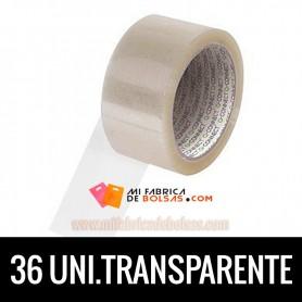 ROLLOS DE PRECINTO INDUSTRIAL TRANSPARENTE 132 METROS