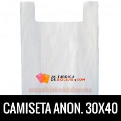 BOLSAS CAMISETA ANÓNIMAS 30x40