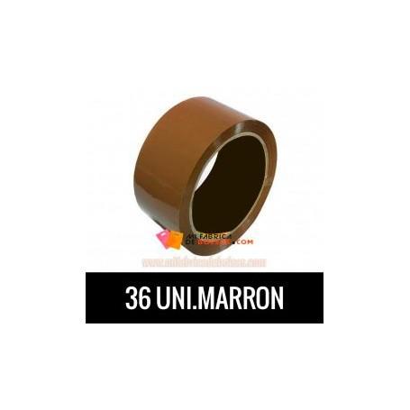 ROLLOS DE PRECINTO INDUSTRIAL MARRÓN 132 METROS