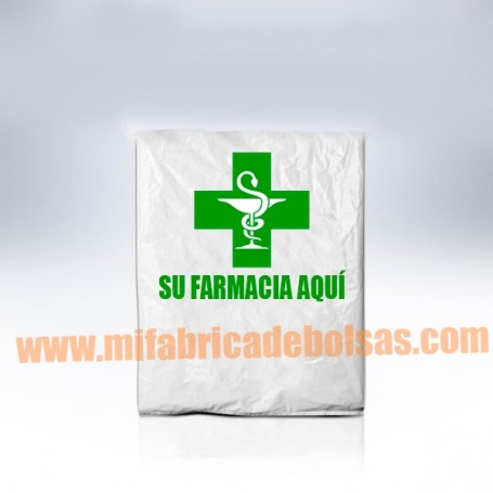 BOLSAS DE PLASTICO TIPO SOBRE FARMACIA 15X30