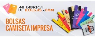 BOLSAS DE PLASTICO CAMISETA IMPRESA
