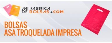 BOLSAS DE PLASTICO ASA TROQUELADA IMPRESAS