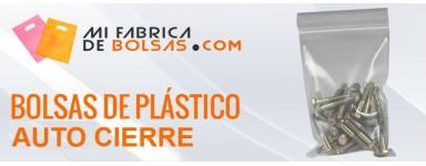 BOLSAS DE PLASICO CON AUTOCIERRE ZIP SIN BANDAS
